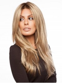 Long Straight 360 Lace Remy Human Hair Wigs 16 Inches