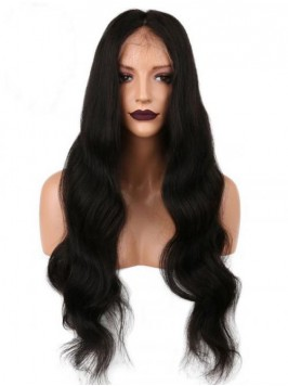 Long Wavy 360 Lace Frontal Wig 24 Inches