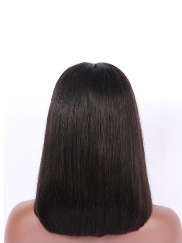 Middle Part Straight Bob 360 Lace Frontal Wig