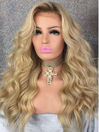 Long Body Wave 360 Lace  Remy Human Hair Wigs