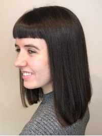 Medium Straight Capless Wigs