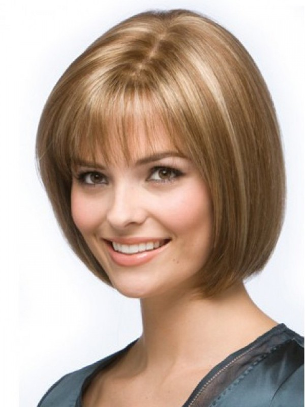 Short Straight Lace Front Human Wigs