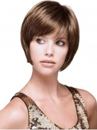 Short Lace Front Straight Wigs