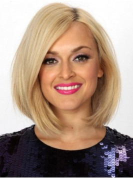 Medium Lace Front Straight Human Wigs