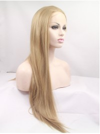 """30"""" Blonde Lace Front Layered Straight Synthetic Wigs"""