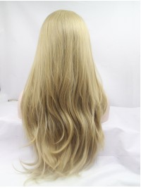 """32"""" Black Lace Front Layered Wavy Synthetic Wigs"""