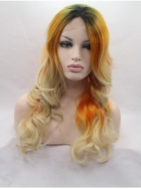 """28"""" Wavy Ombre  Lace Front Wigs"""