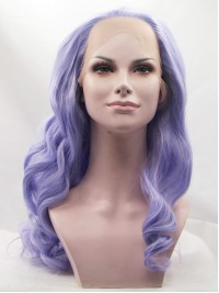 """26"""" Auburn Curly  Synthetic Lace Front Wigs"""