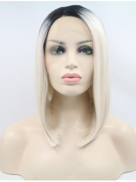 Long Wavy Red  Synthetic Lace Front Wigs