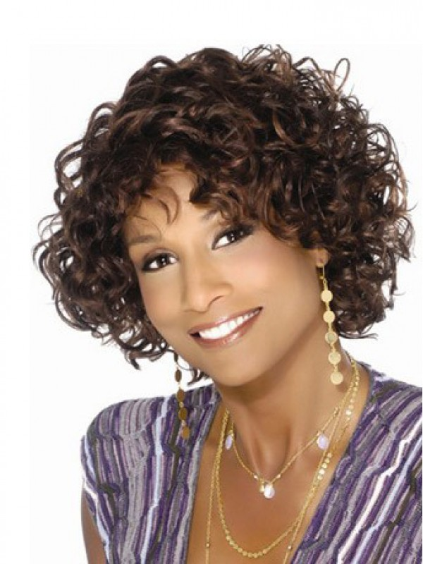 Afro-Hair Short Curly Wig