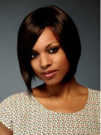 Brown Bob Short Straight Lace Front Huamn Hair Wigs