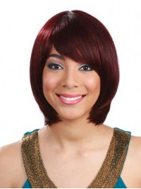 Bob Short Straight Human Hair Wig