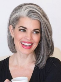 Bob Gray Style Synthetic Wigs 12 Inches