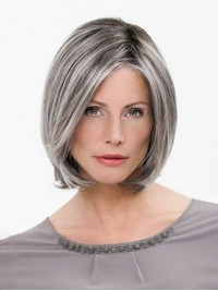 Bob Capless Straight Synthetic Wigs 10 Inches