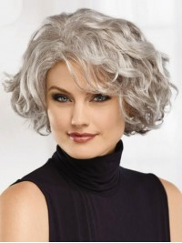 Elegant short wigs with Layered 12 Inches