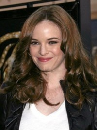 Danielle Panabaker Central Parting Long Wavy Synthetic Lace Front Wigs