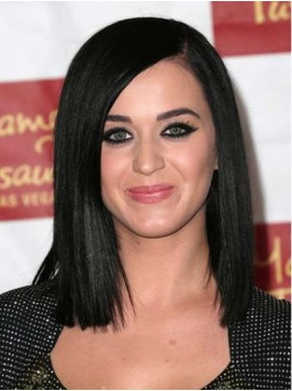 Katy Perry Medium Straight Lace Front Synthetic Wi...