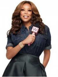 Wendy Williams Central Parting Long Wavy Capless Synthetic Wigs