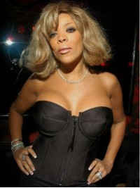 Wendy Williams Short Wavy Capless Human Hair Wigs