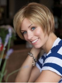 Blonde Short Straight Lace Front Wig