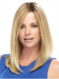 Long Blonde Straight Lace Front Wig