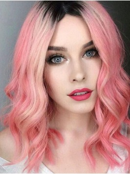 Lace Front Two Tone Human Hair Wig