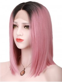 Lace Two Tone Human Hair Wig