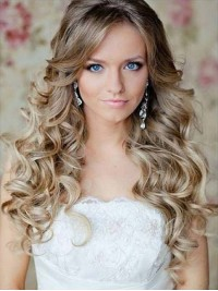 Two Colors Ombre Long Wavy Human Hair Wig