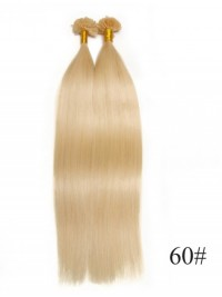100s 0.5g/s Straight Nail/U Tip Virgin Hair Extensions