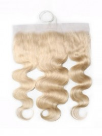 Hair 613 Blonde Body Wave Hair 4x13 Lace Frontal