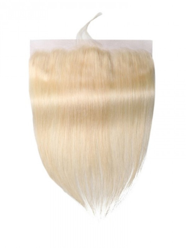613 Blonde Hair 14-18 inches Straight Hair 13*4 Lace Frontal Closure With Baby Hair