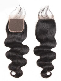 Brazilian Body Wave Virgin Human Hair 4x4 Lace Closure