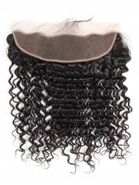 Deep Wave 13*4 Lace Frontal Peruvian Virgin Hair