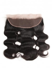 Body Wave 13*4 Lace Frontal 1 pc Peruvian Hair