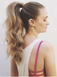 Wave Easy Attach Remy Human Hair Ponytail