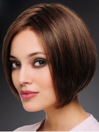 Bob Short Straight Full Lace Human Hair Wigs