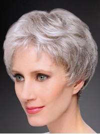 Short Straight Full Lace Synthetic Wigs