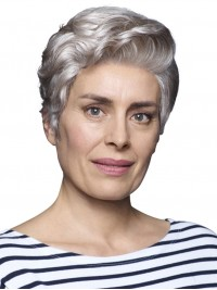 Short Wavy Lace Front Synthetic Wigs