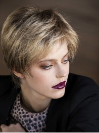 Straight Short Capless Synthetic Wigs