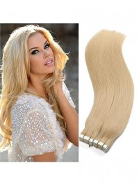 100% Remy Hair Straight Skin Weft Tape Hair Extensions