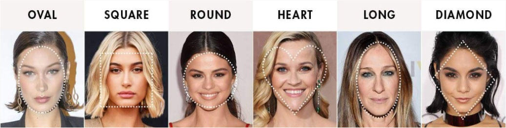 Hair Styles for Different Face Shapes Online